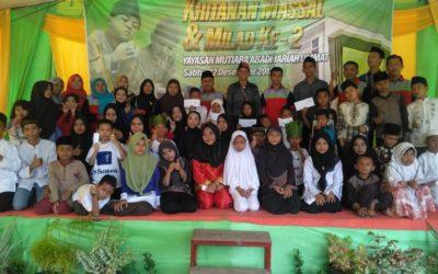 Khitanan massal dan Milad Ke-2 Yayasan Mutiara Abadi Jariah Ummat Berjalan Sukses